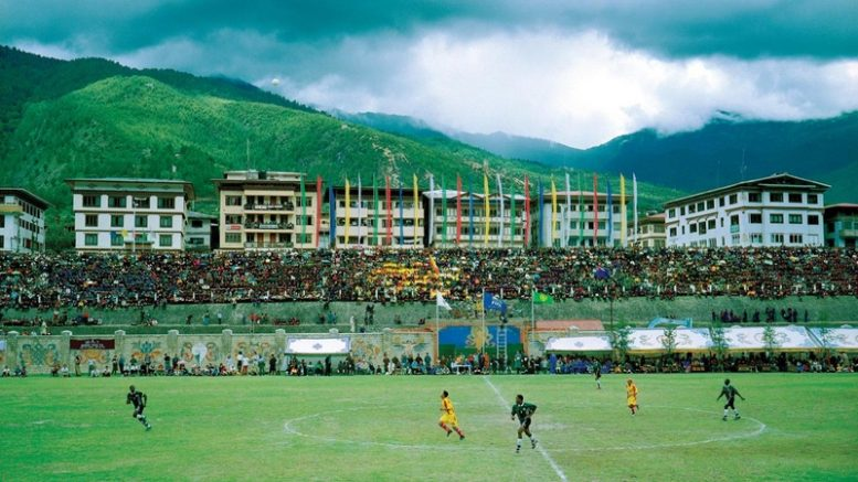 Changlimithang Stadium, Bhutan vs Montserrat