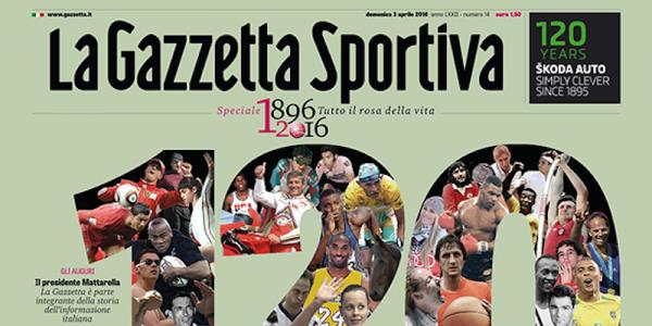 La Gazzetta esce su carta verde