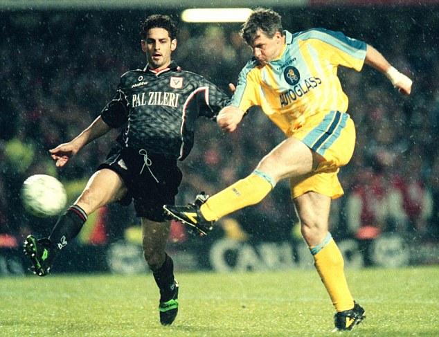 Hughes Chelsea Vicenza Coppa delle Coppe
