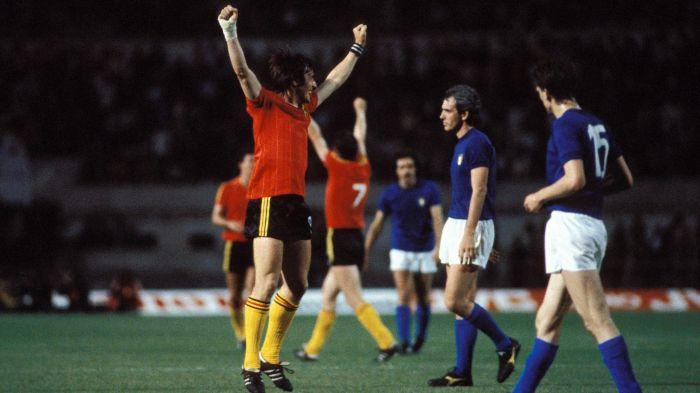 Europeo 1980, il Belgio elimina l'Italia
