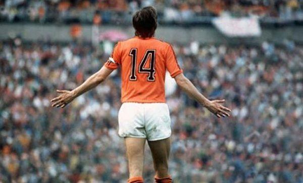Johan Crujiff, il numero 14 più celebre di sempre