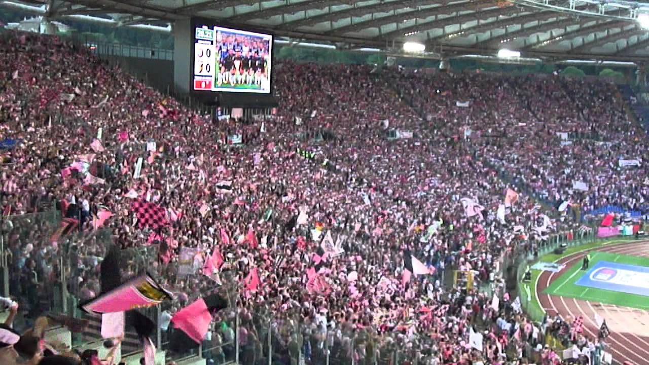 Tifosi Palermo all'Olimpico, Finale Coppa Italia 2011