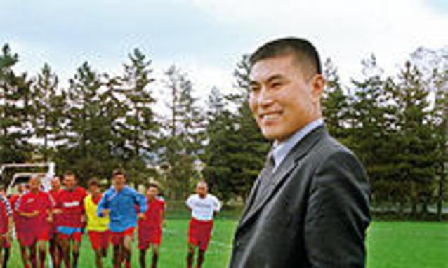 Zichai Song, presidente della Palmese cinese