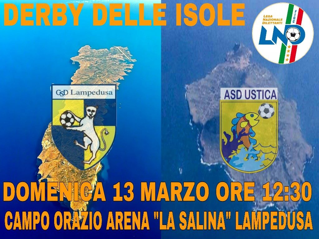Ustica Lampedusa derby delle isole