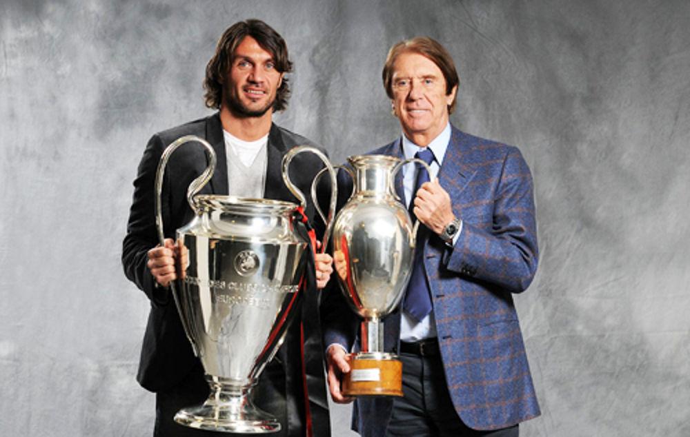 Paolo e Cesare Maldini Champions