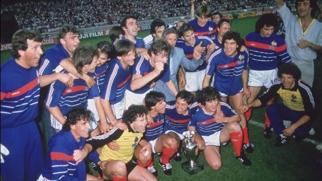 Francia esulta Europeo 1984