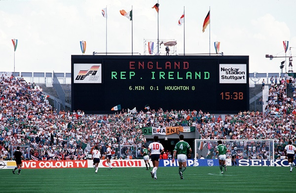 L'Irlanda batte l'Inghilterra Europeo 1988