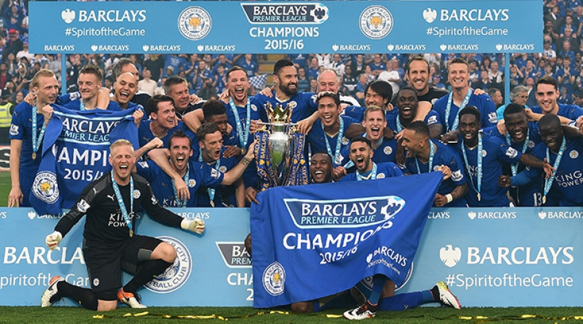 Leicester Premier League 2016