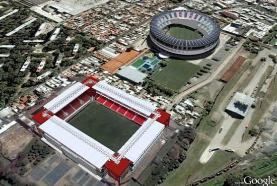 Stadi Racing e Independiente a pochi metri
